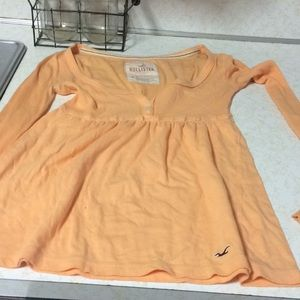 Hollister babydoll top